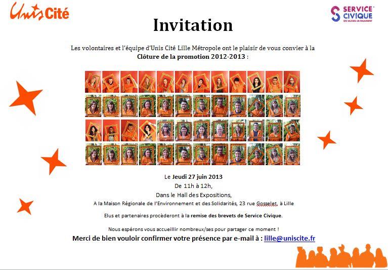 c u00e9r u00e9monie de cl u00f4ture service civique unis cit u00e9 lille m u00e9tropole promotion 2012-2013