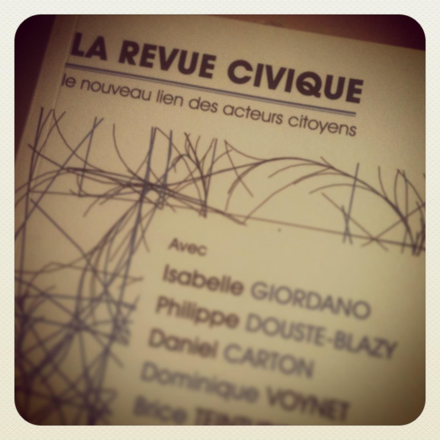 Les Néo-Citoyens dans La Revue Civique #11