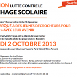 Mercredi 2 octobre : Invitation : Lutte contre le décrochage scolaire & Service Civique