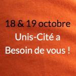 18 & 19 octobre : Unis-Cité recherche 30 bénévoles d'un jour !
