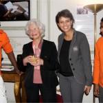 Deux volontaires à la rencontre de Marie-José Chombart de Lauwe