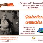 1er Concours Les Passeurs de Mémoire !