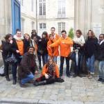 Les volontaires d'Unis-Cité au Club UNESCO de La Rochelle