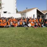 Rassemblement des volontaires