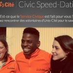 Est-ce que le Service Civique est fait pour vous ? Participez au Civic Speed Dating pour le savoir !