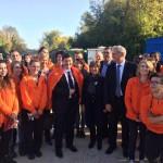 Jeudi 23 octobre 2014 : 28 volontaires et anciens volontaires de l'association Unis-Cité , engagés auprès des personnes âgées, ont reçu la visite de Monsieur Patrick Kanner, Ministre de la Ville, de la Jeunesse et des Sports, à Angoulême.