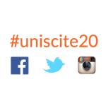 #uniscite20 : Suivez nos 20 ans sur les réseaux sociaux !!