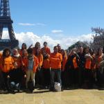 Les volontaires d'Unis-Cité D'Angers et de Nantes en vadrouille dans la capitale !