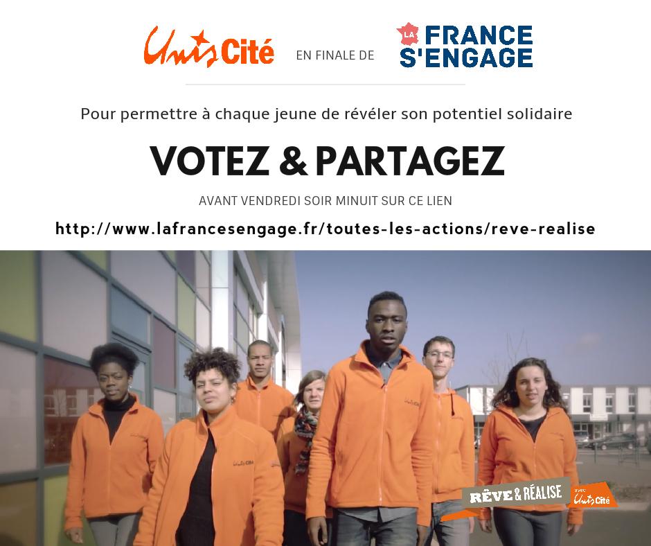 5 jours pour soutenir Unis-Cité en 5 clics !