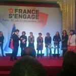 Unis-Cité Lauréat national de La France S'engage