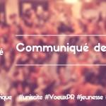 [CP] Voeux PR – Service Civique – Réaction d'Unis-Cité
