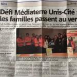 Défi Médiaterre à Unis Cité : les familles passent au vert!