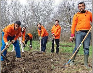 Une expérience inédite d'un service civique mêlant Roms et Français vient d'être lancée