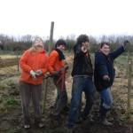 Des volontaires au jardin!