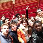 Les volontaires Unis Cité Saint-Nazaire à la capitale