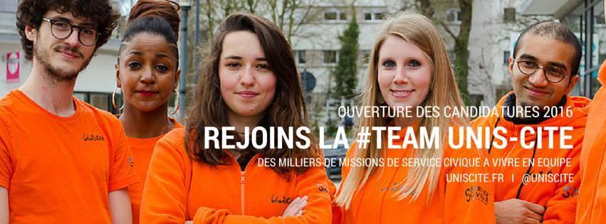 Rejoignez la #TeamUnisCité Val d'Oise !