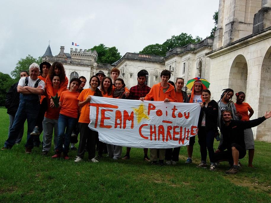 Du orange au Château de la Mercerie!