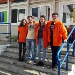 Marine, 21 ans, en Service civique à Bordeaux comme «Volontaire de la transition énergétique»