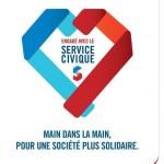 Grande campagne de communication sur le Service civique pour dire « merci ! » aux jeunes volontaires pour leurs actions.