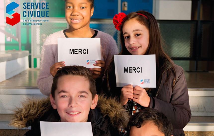 """Découvre la campagne de communication qui dit """"Merci aux Volontaires"""" !"""