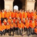 Les volontaires Unis-Cité Coeur de Flandre participent à la collecte des Restos du Coeur
