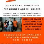 Grande Collecte au profit des personnes âgées – Monoprix