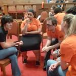 Temps d'échange sur l'engagement des volontaires après leur service civique