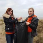 Opération nettoyons la plage – Leffrinckouck