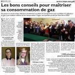Convention Civigaz signée par la CASC Sarreguemines, GRDF et Unis cité Lorraine
