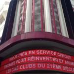 Rencontre nationale des volontaires «Citoyens du cinéma» au Grand Rex