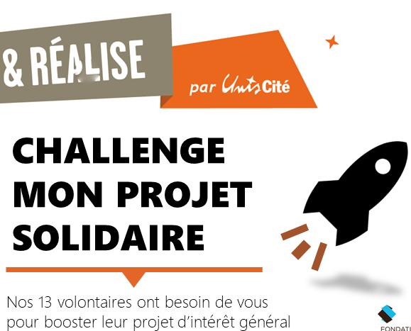 Challenge Mon Projet – 26 avril à 18H à la Cantine Numérique