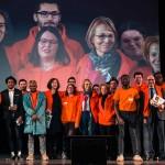 Au grand Rassemblement des volontaires «Cinéma & Citoyenneté», à Paris le 20 mars