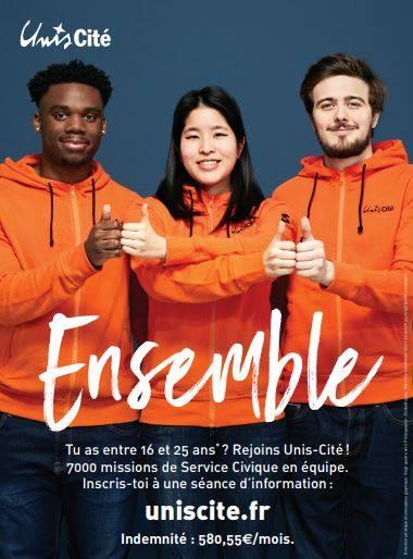 Unis-Cité Paris lance sa campagne de mobilisation !