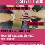 Happy Hours du Service Civique – samedi 2 juin – MDA de Roubaix