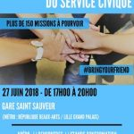 Happy Hours du Service Civique – mercredi 27 juin – Gare Saint Sauveur