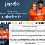 Unis Cité Lens recrute!