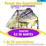Unis-Cité sera présent au Forum des associations de l'île de Nantes Samedi 8 septembre 2018
