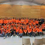 Des dirigeants de Jules (groupe Happychic) à la remise des tenues des volontaires lillois