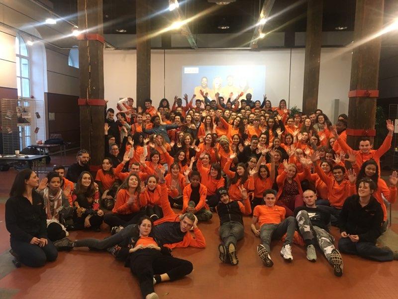 Unis-Cité fête le lancement de la promotion 2018-2019 !