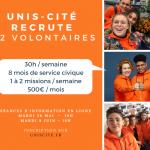 Unis-Cité Calais lance sa campagne de mobilisation!