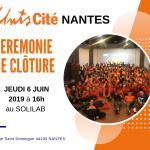 Changement de lieu : cérémonie de clôture d'Unis-Cité Nantes 2019
