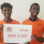 Nadjime (19 ans) et Lyazid (22 ans), jeunes de quartiers populaires de Marseille, ont monté un événement sportif pour promouvoir la mixité social