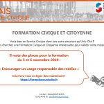 Formation Civique et Citoyenne de novembre