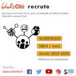 Unis Cité Lille RECRUTE 32 postes dans le NUMERIQUE !
