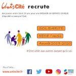 Unis Cité recrute