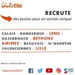 Unis Cité Hauts de France RECRUTE 600 jeunes !