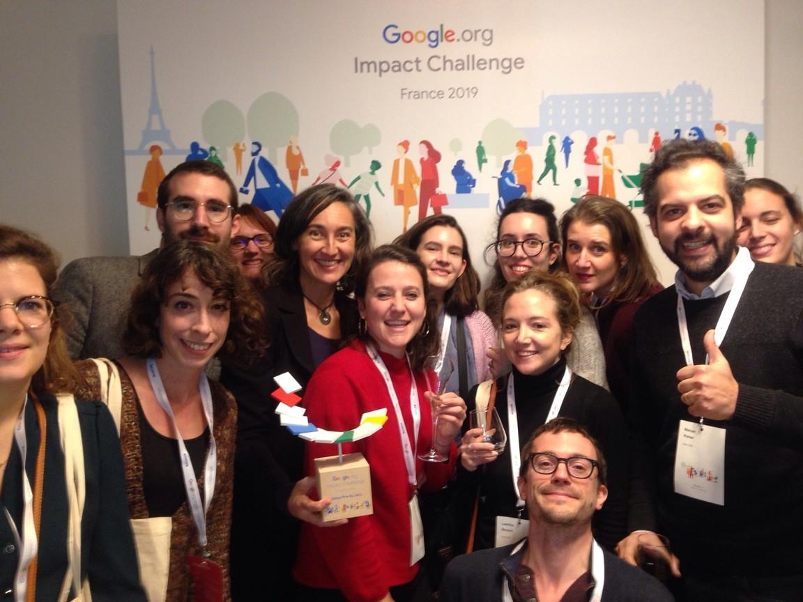 Unis-Cité est lauréat du Google.org Impact Challenge