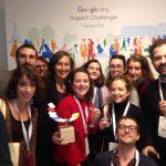 Google Impact Challenge : Unis-Cité a reçu le 2e prix du jury.