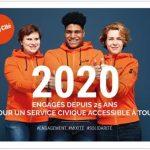 2020, une année anniversaire pour le Service Civique