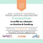 Formation Handicap & Service Civique le 6 février !